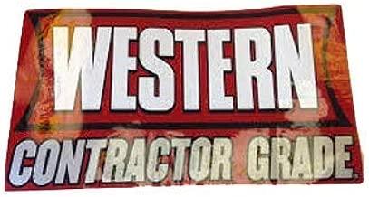 western snow plow moldboard