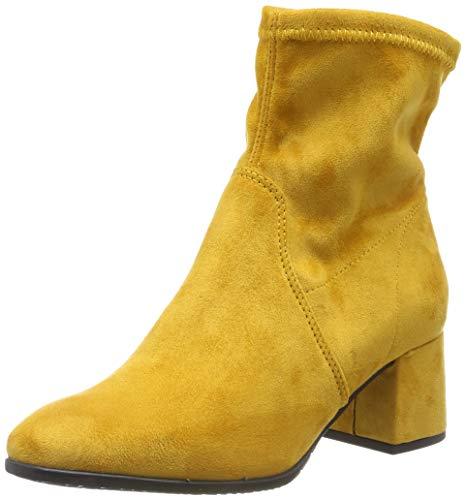 Botines amarillo para mujer