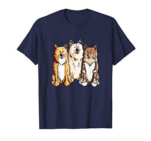 Happy Islandhunde T Shirt fürs Hunde Frauchen & Herrchen