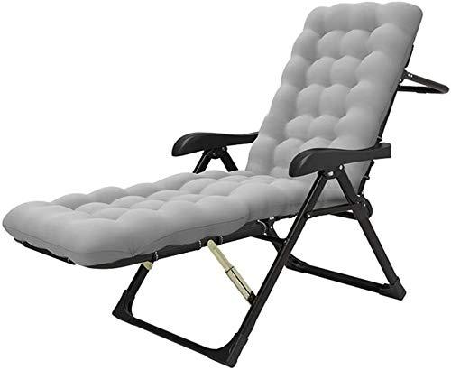 MFLASMF Productos para el hogar Sillas reclinables Plegables Silla de jardín al Aire Libre Sillas reclinables Plegables Tumbonas Tumbonas para el Lado de la Piscina Patio Exterior Playa -