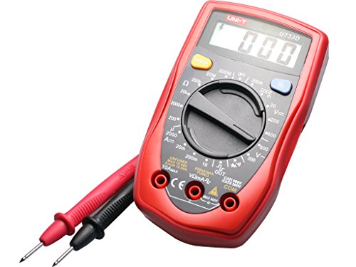 Uni-T Ut-33D Digital Multimeter With Continuity Buzzer And Calibration Certificate And Test Leads