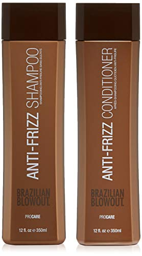 BRAZILIAN BLOWOUT Shampoo and Conditioner Duo Set Packaging May Vary