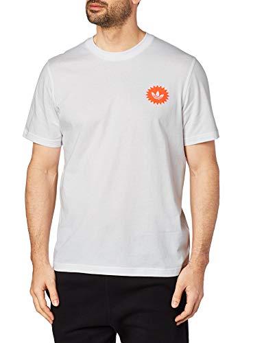 adidas T-Shirt Uomo Bodega PRICETAG ED7066 (L - White)