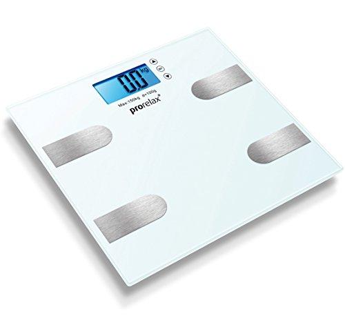Prorelax multifunctionele weegschaal – elektronische lichaamsanalyse weegschaal