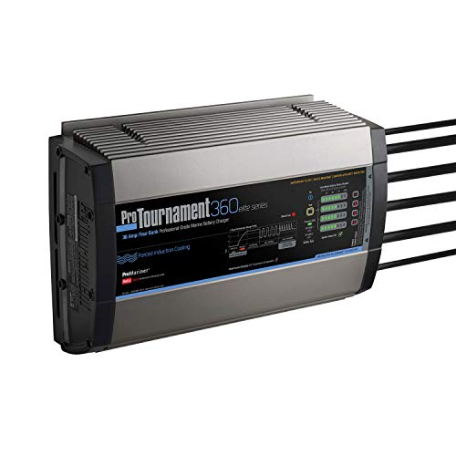 ProMariner ProTournament 360 Elite Quad Charger – 36 amp, 4 banken