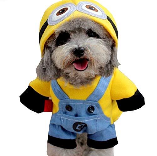 KIRALOVE Kostüm - verächtliches ich - zeichentrickfilm - Hund - verkleidung - Halloween Karneval - originelle Geschenkidee