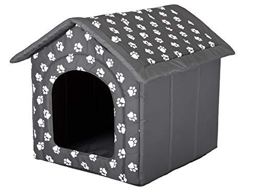 HobbyDog - Hund oder Katze, Zwinger/Haus/Bett, Pfotenentwurf, R4 (60x55x60cm)