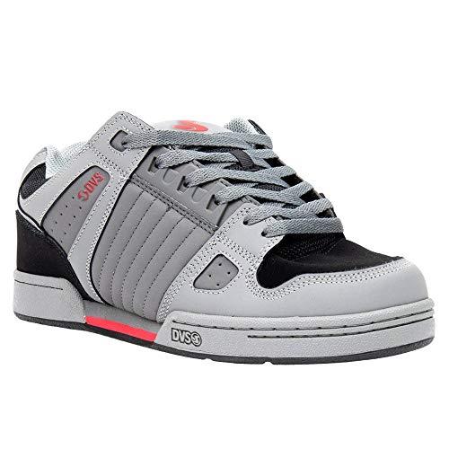 DVS mens Celsius Skate Shoe, Charcoal/Black/Red, 12 US