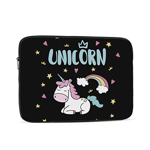 10'' 12'' 13'' 15'' 17 Inch Laptop Sleeve Unicorn Laptop Case Waterproof Notebook Computer Tablet Carrying Bag Cover
