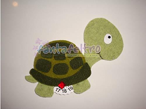 Disco Orario per auto tartaruga - idea regalo simpatica uomo donna