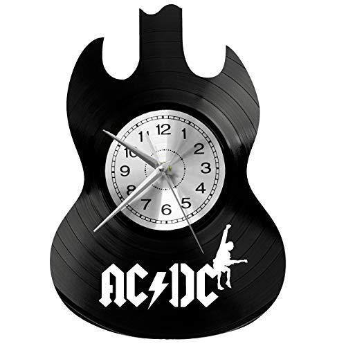 wtnhz LED-vinyl record wall clock CD Record Wall Clock LP Vinyl theme wall decoration large clocks handmade wall clock gift