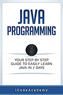 Java Programming: Your Step by Step Guide to Easily Learn Java in 7 Days