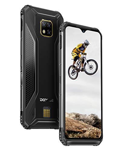 DOOGEE S95 Pro Outdoor Smartphone ohne Vertrag, Android 9.0 Dual SIM IP68 IP69K Outdoor Handy Wasserdicht, 8GB +128GB Helio P90, 6.3 Zoll 5150mAh, 48.0MP+8.0MP+8.0MP AI Kamera, 4G Globale NET Phone