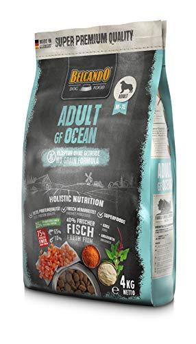 Belcando Adult GF Ocean [4 kg] getreidefreies Hundefutter | Sortenreines Trockenfutter ohne Getreide | Alleinfutter für ausgewachsene Hunde ab 1 Jahr