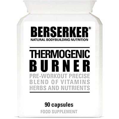 Berserker T5 Thermogenic Burner 90 Capsules (V) (3 Months Supply) High Strength Weight Loss Fat Burner Capsules for Men and Women
