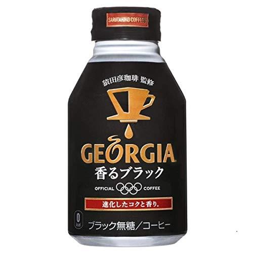 コカコーラ ジョージア 香るブラック 260mlボトル缶×24本入