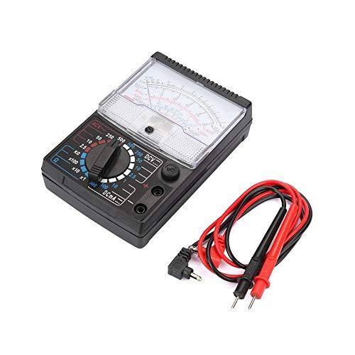 Tarente Instrumento Pruebas de Resistencia del Voltaje de CC Tarente analógico Puntero del multímetro AC Multitester