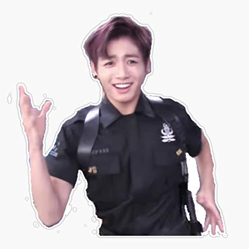 Jungkook BTS Maknae Aegyo Meme Funny Sticker Decal Bumper Sticker 5""