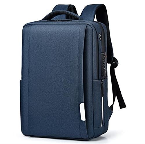 YYDMBH Maletín para portátil Laptops de Mochila antirrobo 17.3 Pulgadas Niñas de Gran Capacidad para niños Mochila de Negocios USB de Carga de la Escuela Secundaria de la Escuela Secundaria