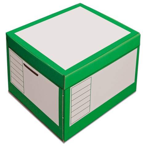 pressel Caja y organizador, 43L, wellp, tapa, 41x 35x 30cm, I: 39x 33x 29cm, color verde