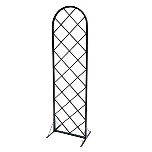 MLXG Freestanding Trellis Support Archway Roses 180cm Garden Planter with Topped Trellis Climbing Plants Flower Raised Bed Weather-Proof Easy Installation