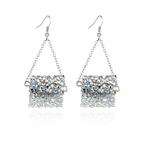 WEDC Unique and special handmade web earrings, suitable for women and girls to declare jewelry gifts