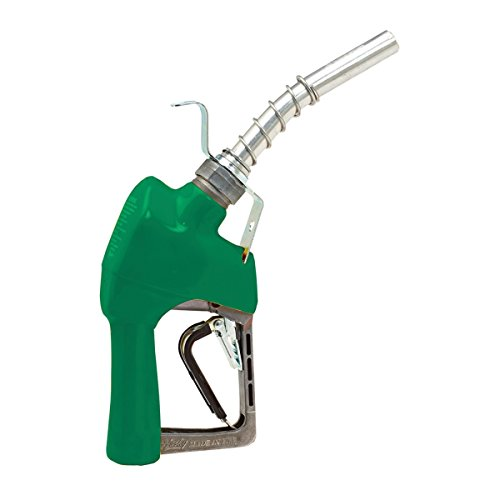 Husky 337003N-03 New XFS Light Duty Diesel Nozzle with 3-Notch Hold Open Clip, Full Grip Guard and Hanging Hook
