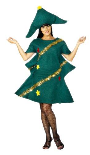 Disfraz de árbol de Navidad para mujer Talla única