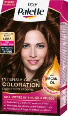 Poly Palette Intensiv Creme Coloration Argan-Öl Nr. L 665 Glanzvolles Mokka