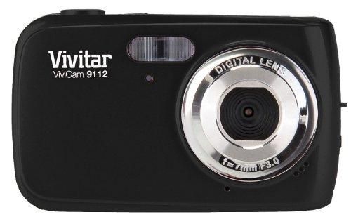 Vivitar 9.1MP Digital Camera with 1.8-Inch Screen (V9112-BLK-PR) , Color May Vary