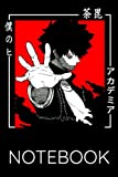 Notebook: My Hero Academia   TV Show   Pop Culture: All Purpose Notebook   Lined Journal   120 Pages   6 x 9   Soft Cover Paperback   Matte Finish Cover