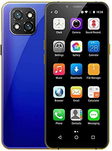 YGXR Telefono Cellulare Mini Smartphone Portatile alla Moda da 3,5 Pollici con capacità di Memoria 3 GB + 32 GB Risoluzione 960 * 640 capacità della Batteria 1800 mAh