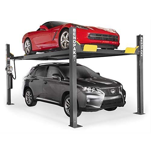 - BendPak 4-Post Wide/High Lift, - 9,000lb. Capacity, Blue, Model#...