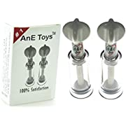 AnE Toys Original Twist Up Manual Vacuum Natural Nipple Correction Cup for Flat and Inverted Nipples for Proper Latch-on New Borns