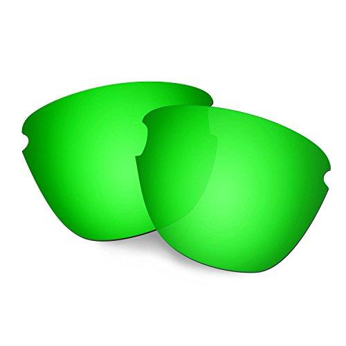 HKUCO Reforzarse Lentes de repuesto para Oakley Frogskins Lite Gafas de sol Verde Polarizado