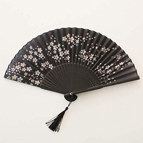 Opvouwbare ventilator,Creatief Klassiek Creatief Zomer Dames Chinees Fan Dance Fan Hanfu Cheongsam En Fan Antiek Creatief Vliegen over de hemel