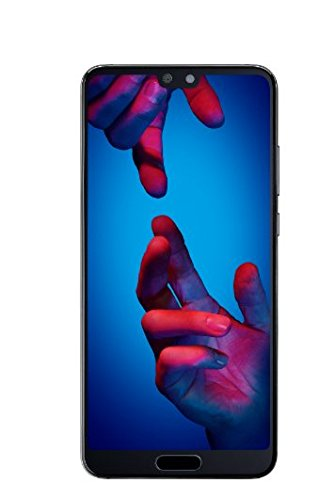 Huawei P20 Smartphone (14,7 cm (5,8 Zoll), 128GB interner Speicher, 4GB RAM, 20 MP Plus 12 MP Leica Dual Kamera, Android 8.1, EMUI 8.1, Dual SIM) Black (West European Version)