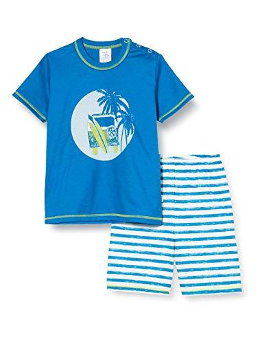 CALIDA Baby-Jungen Toddlers Surf Zweiteiliger Schlafanzug, Blau (Mykonos Blue 456), (Herstellergröße:80)
