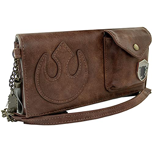 The Last Jedi Star Wars Rey's Sac Cartable Portefeuille Marron