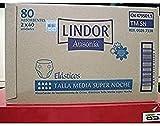 Lindor Pañal Lindor Bp S/Noche Med 2X40 100 g