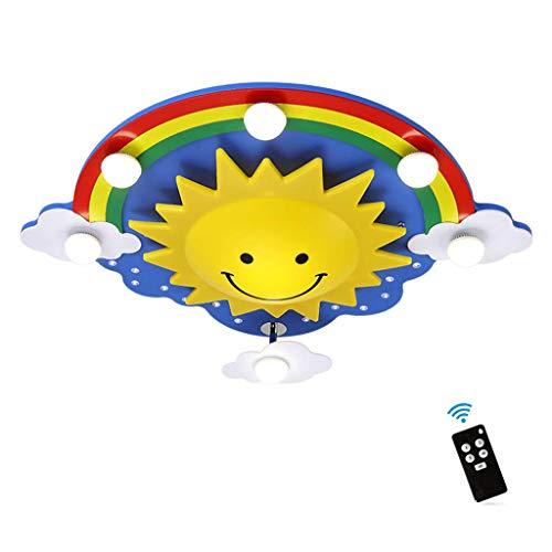 Deckenlampenschirme für Schlafzimmer Kinder, Led Kreative Deckenleuchten mit Fernbedienung,...