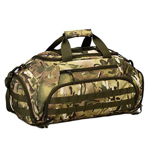 Mochila Militar Mochila Táctica Bolsas Militares Nylon Bolsa de Viaje portátil a Prueba de Agua CP Camouflage