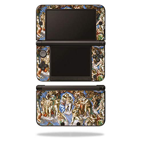 MightySkins Carbon Fiber Skin for Nintendo 3DS XL Original (2012-2014) - Last Judgement | Protective, Durable Textured Carbon Fiber Finish | Easy to Apply, Remove, and Change Styles | Made in The USA