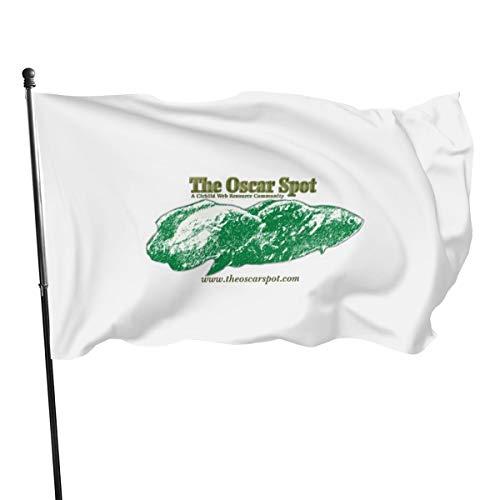 N/D - Striscione con tre bandiere di pesce Oscar
