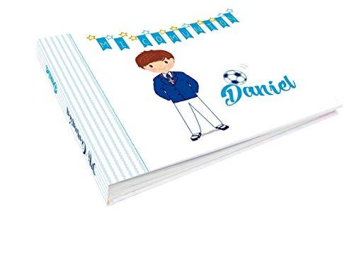 libro de firmas comunión modelo Daniel futbol