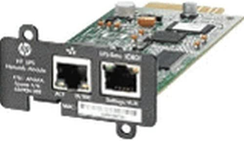 AF465A HP UPS Power Management Module - Mini Slot - Serial, Ethernet. New Retail Factory Sealed With Full Manufacturer Warranty.