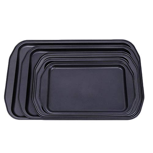 TAOTLIYQ Molde para Hornear Inicio de Bricolaje for Hornear Utensilios for Hornear Bandeja de Cocina de la Bandeja Cuadrada Superficial. (Color : A, Size : 44 * 28.5 * 2.5cm)