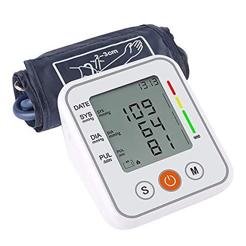 Draagbare Automatische Bovenarm Bloeddrukmeter Manchet Tonometer Arm Bloeddrukmeter Tensiometer Bp Hartslagmeter