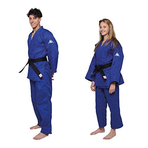 Kappa4Judo Atlanta, Judogi Unisex – Adulto, Blu, 3.5/165 cm