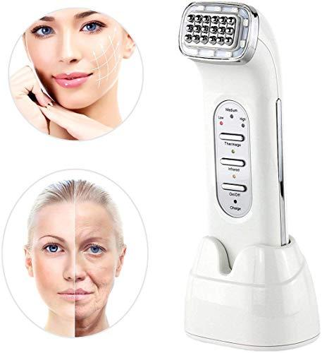 LG&S Wiederaufladbare RF Radio-Frequency thermischer Dot Matrix Gesichtsschönheitsgerät für zu Hause, Hautverjüngung Anti-Aging Skin Lifting & Anzug